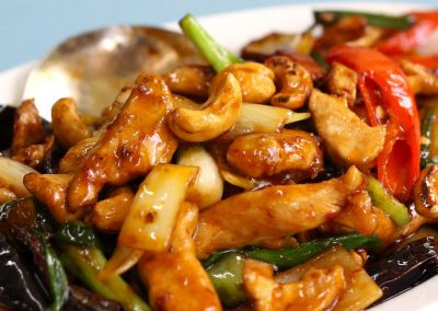 Szechuan Chicken with Cashews